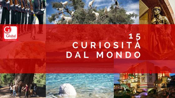 15 curiosità dal Mondo